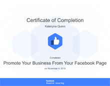 Promote Your Business From Your Facebook Page
